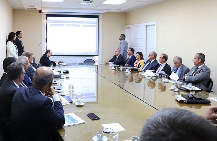 Apresentação do PJE no gabinete da Presidência