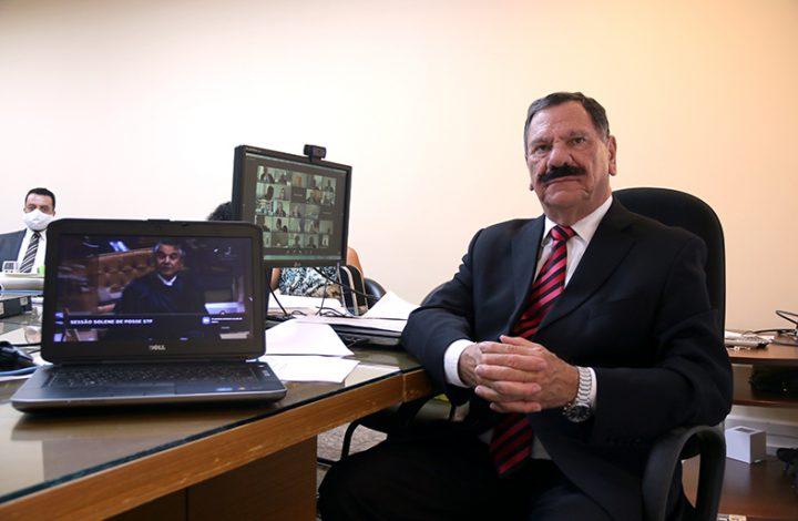 Presidente do TJES participa de solenidade online de posse da nova mesa diretora do STF