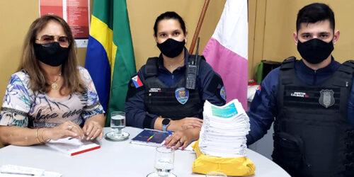 Coordenadora de Enfrentamento à Violência Doméstica se reúne com a Guarda Municipal de Vila Velha