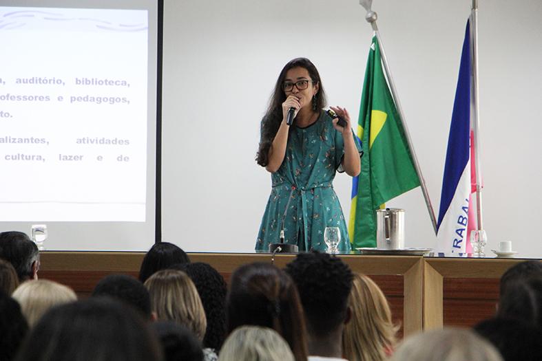 Barbara apresenta relatorio das Inspeções Temáticas