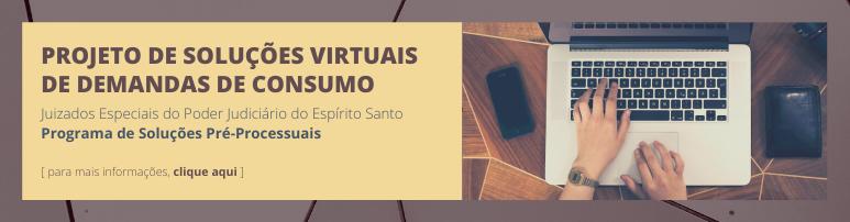 Slide | Soluções Virtuais para Demandas de Consumo