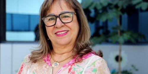 Drª Hermínia Azoury, juíza coordenadora da coordenadoria de combate a violência doméstica e familiar.