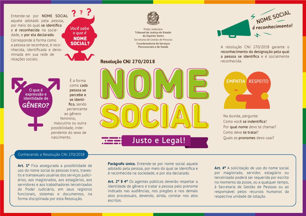 Slide | Nome Social