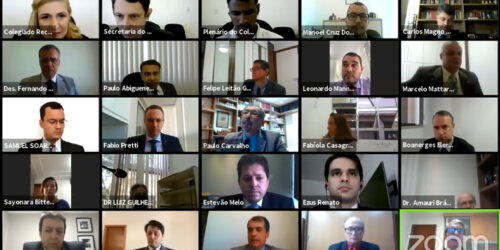Turma de Uniformização e Plenário do Colegiado Recursal realizam sessão virtual